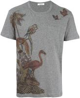 Valentino animal print T-shirt - men - Cotton - S