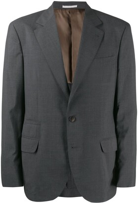Brunello Cucinelli Micro-Check Suit Jacket