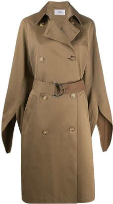 Victoria Victoria Beckham Double-Breasted Trench Coat