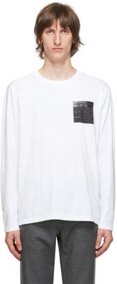Maison Margiela White Stereotype Long Sleeve T-Shirt