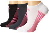 adidas Climacool Superlite 3-Pair No Show Sock Women's No Show Socks Shoes