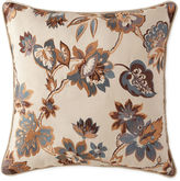 JCP HOME JCPenney HomeTM Tapestry Stripe Embroidered Square Decorative Pillow