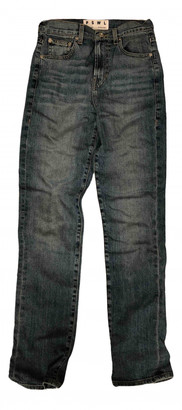Proenza Schouler Blue Cotton - elasthane Jeans