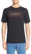 Saturdays Nyc Logo Graphic Short Sleeve T-Shirt