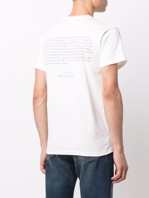 Throwback. Trust Us graphic-print T-shirt