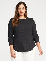 Old Navy Relaxed Plus-Size Plush-Knit Tee