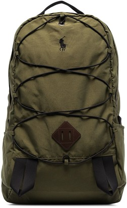 Polo Ralph Lauren Mountain logo-embroidered backpack