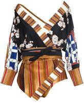 Lenny Niemeyer Cottage Kimono Maillot Swimsuit