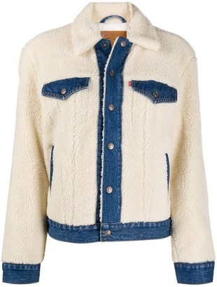 Levi's Faux-Shearling Denim Jacket