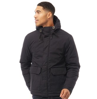 Fred Perry Mens Quilted Stockport Jacket Navy