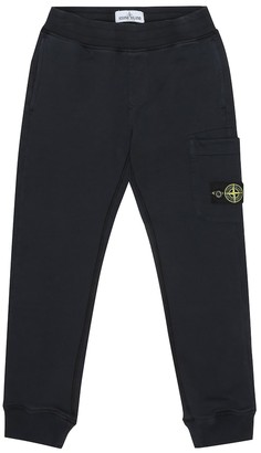 Stone Island Junior Cotton trackpants