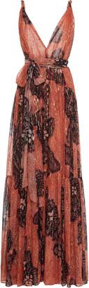 Ulla Johnson Kemala Printed Silk Dress