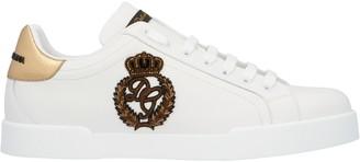 Dolce & Gabbana Portofino Crest Sneakers