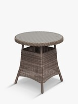John Lewis & Partners Rye Garden Bistro Table, Natural