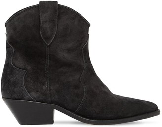 Isabel Marant 40MM DEWINA SUEDE ANKLE COWBOY BOOTS