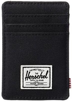 Herschel Raven RFID (Black) Wallet Handbags