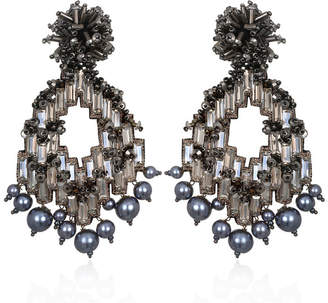 Suzanna Dai Alexandria Hoop Earrings