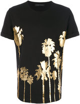 Christian Pellizzari foil print T-shirt