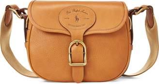 Ralph Lauren Leather Large Hutton Crossbody