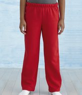 Gildan Kids Heavy Blend Open Hem Jog Sweatpants