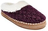 Mad Love Women's Kali Sweater Knit Slide Slippers