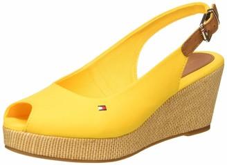 Tommy Hilfiger Women's Iconic Elba Sling Back Wedge Open Toe Sandals