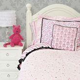 Caden Lane Luxe Twin Duvet Cover in Pink