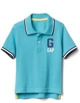 Gap Sporty logo pique polo