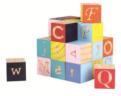 Kubix 26 Maxi Letters Blocks