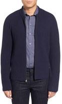 Zachary Prell Men's Zip Wool & Cashmere Cardigan