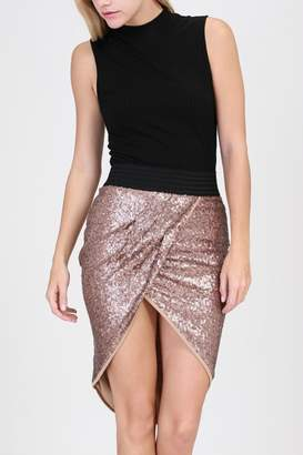 Hyfve Sequin Tulip Skirt