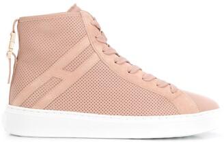 Hogan perforated sneakers