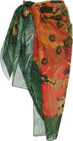 Agua de Coco Printed Jungle Sarong