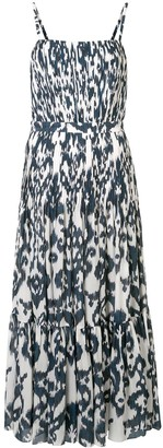 Andres Otalora La Victoria Ikat-print dress