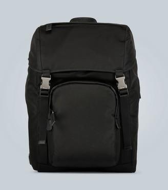 Prada Technical fabric backpack with logo