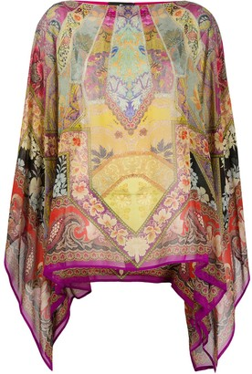 Etro Geometric Print Tunic Top
