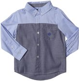 Andy & Evan French Oxford Shirt (Toddler/Kid) - Navy-7 Years