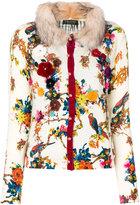 Twin-Set floral embellished cardigan