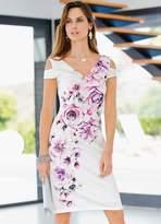 Together Scuba Print Dress