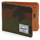 Herschel Men's 'Hank' Bifold Wallet - Green