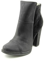 Groove Sally Ann Round Toe Synthetic Ankle Boot.