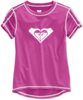 Roxy Core Short-Sleeve Rashguard, Little Girls (2-6X)