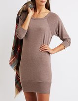 Charlotte Russe Raglan Sweatshirt Dress