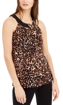 INC International Concepts Inc Twisted Keyhole Halter Top, Created for Macy's