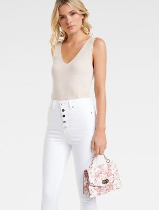 Forever New Lenni Crossbody Bag - Peony Floral - 00