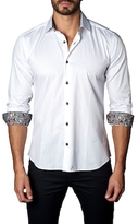 Jared Lang Cotton Contrast Sportshirt