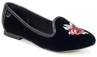 Lollipops VELVET LOAFER women's Shoes (Pumps / Ballerinas) in Black