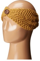 San Diego Hat Company KNH3440 Cable Knit Headband with Wood Button Headband