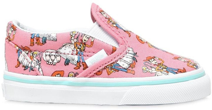 Vans Woody & Bo Peep Cotton Canvas Sneakers