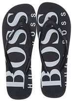 HUGO BOSS Wave Thong Sandal By Boss Green (Navy) Men's Shoes